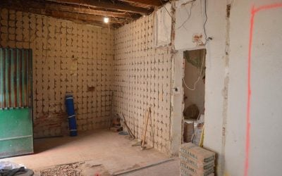 Reformar un piso. 1 Demolición