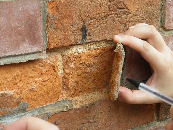 Reparación de fachadas de ladrillo visto
