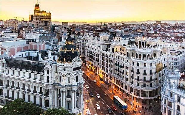 Edificios que tienen que pasar la ITE en Madrid durante el 2014