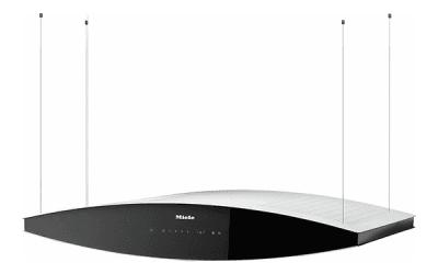 Campana de filtros de carbón activado como alternativa a chimenea a cubierta