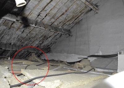 Fig-40 (Vista interior del falso techo)