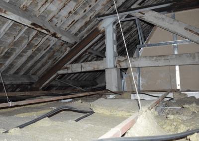 Fig-41 (Vista interior del falso techo)