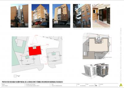 Proyecto de rehabilitación de fachadas - Acuatro Arquitectos (1)