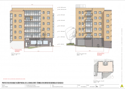 Proyecto de rehabilitación de fachadas - Acuatro Arquitectos (3)