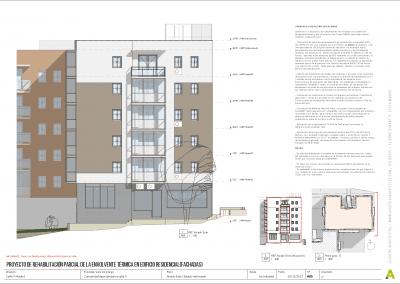 Proyecto de rehabilitación de fachadas - Acuatro Arquitectos (5)