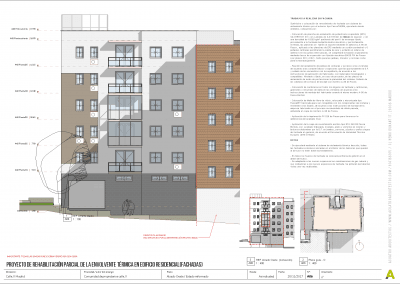 Proyecto de rehabilitación de fachadas - Acuatro Arquitectos (6)