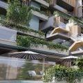 Imagen de trabajo de opciones estéticas de fachada, previo a su rehabilitación.