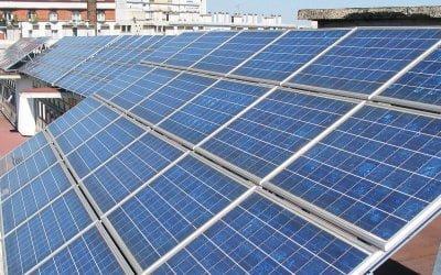 Paneles solares en cubiertas existentes, condicionantes.